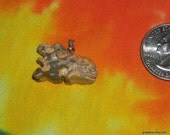 Leopardskin Jasper Chinese Lion Pendant Charm