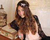 Adult Headband Women Teens Boho Rhinestone Elastic Headwrap Hair Accessories by Preciosa Couture  Item No. 32