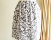 SALE Lace Skirt Creamy White