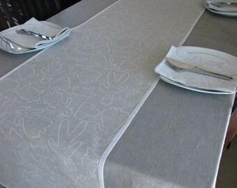 Linen Table Runner / Table Decoration