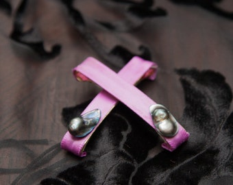 Mother of Pearl Barrettes. OOAK