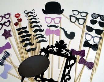 Photo Booth Props - Everything you need for the perfect Photo Booth - Includes Ornate Frame and Conversational Bubble