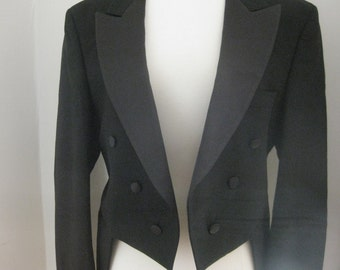 Vintage Tuxedo Tails Jacket and Pants Men's