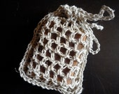 Hemp crochet soap saver