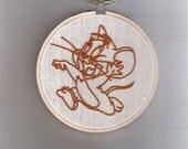 Jerry Brown Seersucker - Toon Stitching - Saturday Morning Series