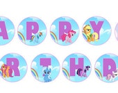 MLP My Little Pony Birthday Banner Digital Print as many as you need