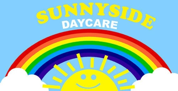 Toy Story Day Care : Toy story sunny side daycare sign by digitalparties on etsy