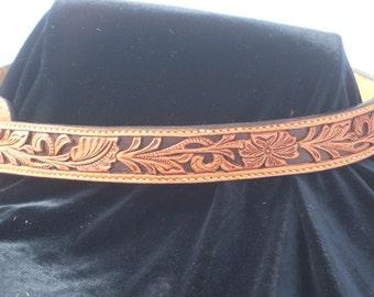 Filigree Hand Carved Belt