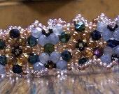 Tangled Up in Blue Bracelet