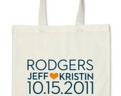 personalized dabney lee tote bag