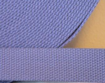 Cotton Webbing Purple Lilac Key Fob Key Chain Purse Bag Straps Leash 1 yard