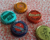 Recycled Bottle Cap Magnets
