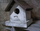 Birdhouse, Barnwood Birdhouse, Painted Birdhouse, Shabby Chic