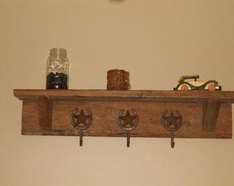 Rustic Barnwood Shelf