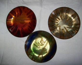 Set of 3 Beautiful Rosenthal Bowls - Some Damage