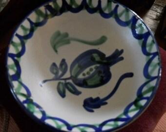 Ceramica Arabe S. Isidoro Bowl Made in Grenada