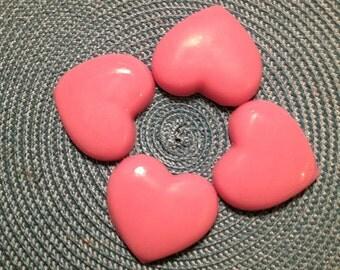 Handmade Heart Shaped Soaps- Set Of 4