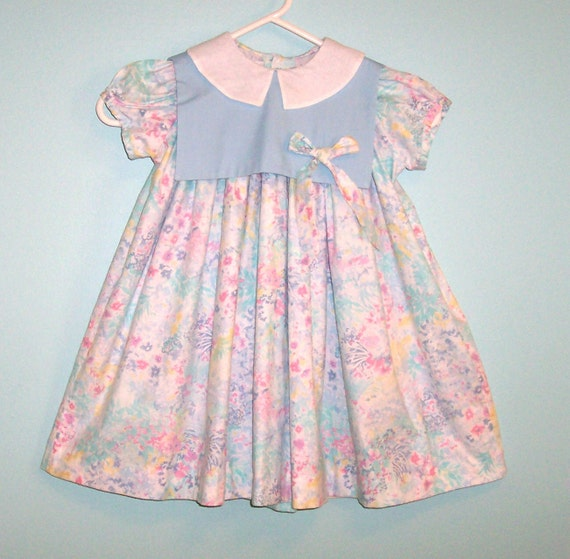 Size 4T - Vintage Monday's Child Dress