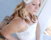 "Bridesmaid Hair Accessory-Wedding Accessory-Flower Girl-New Born headband- Boho Chic Headband- The ""Windowsill Splendor"" Headband"