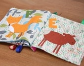 Personalised and Custom Cloth Book - Quiet Book for babies