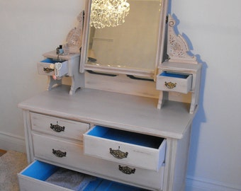 REDUCED!!! Stunning Re-worked Edwardian Dresser