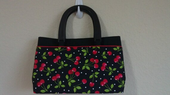 Cherry Print Bag