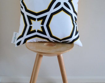 Black Spirit Cushion Cover