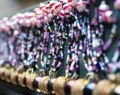Vintage Indian Belly Dance Seed Bead Belt