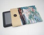 Kindle Sleeve, Kindle fire sleeve cover, nook cover, ereader sleeve covergoogle nexus 7 case