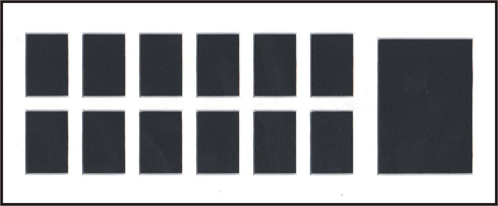 White 10x24 13 Opening Mats For School Or Sports Pictures