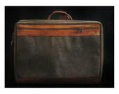 SALE Vintage Hartmann Suitcase (Tweed)