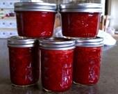 ANY Three Homemade Jams or Jellies- 8oz Jars (Low Sugar)