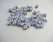 Mini Dot Dice - Scrapbooking - Educational Craft - Math Games - learning activities - teaching - 6D