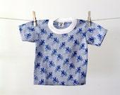 bicycle t-shirt / vintage kids t-shirt