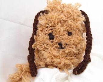 Puppy Purse Loom Knit Bag