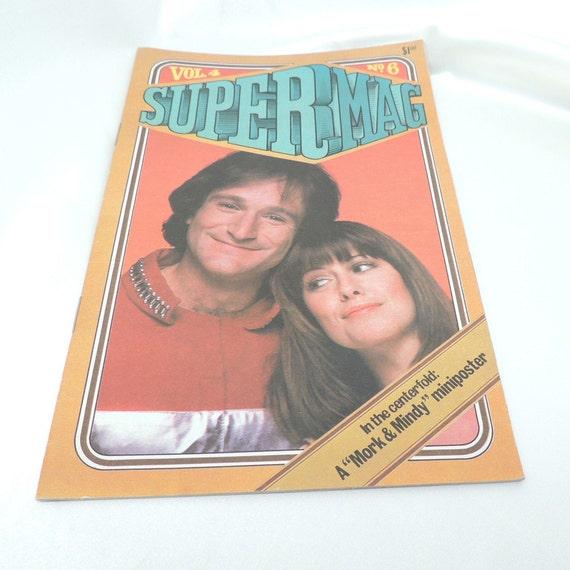 Vintage Mork and Mindy Super Mag Vol. 4 No. 6 Tween Magazine