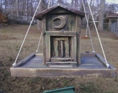 Outhouse 'Chute' Birdfeeder