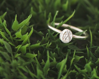 Mini Sterling Silver Ring
