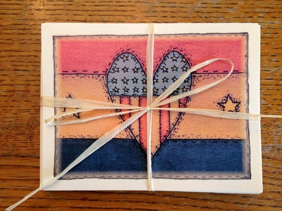 Americana Note Card Set