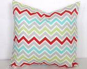 ONE 20 x 20 Pillow Covers Zoom Zoom Chevron Premier Prints - Decorator Pillow Covers