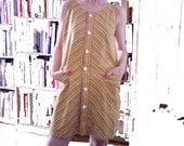ON SALE NOW. Striped Sleeveless Summer Dress