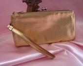 Wallet Ladies Gold Wallet Clutch Purse