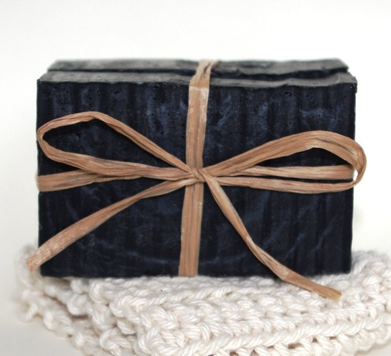 Activated Charcoal 100% NATURAL Handmade Coldpress Skin Care Soap Handcrafted Superior Oils