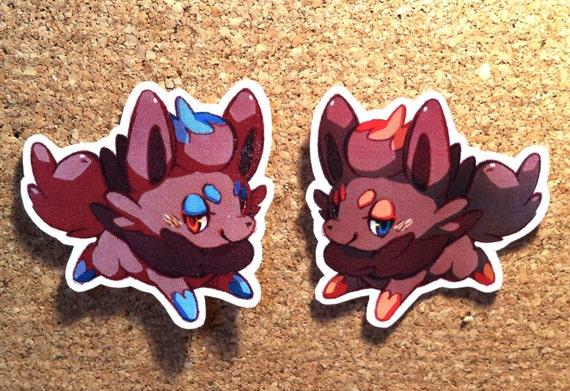 LAST ONE - Stickers set - Zorua and Shiny Zorua