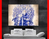 Game of Thrones HUGE POSTER print art photo dragon hobit medieval fantasy Lord Eddard Stark lord of the rings