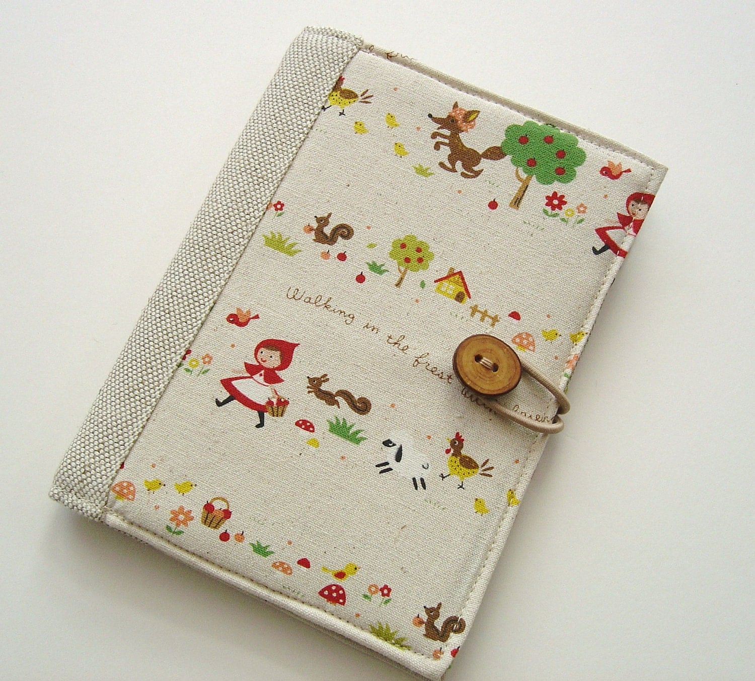 Book Cover Portadas Kawaii ~ Cute book style kindle cover little red riding hood on