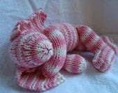 RESERVED for Connie Sweet Floppy Cotton Knitted Rabbit Bunny Plush Doll