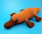 Platypus Crochet Amigurumi Made To Order