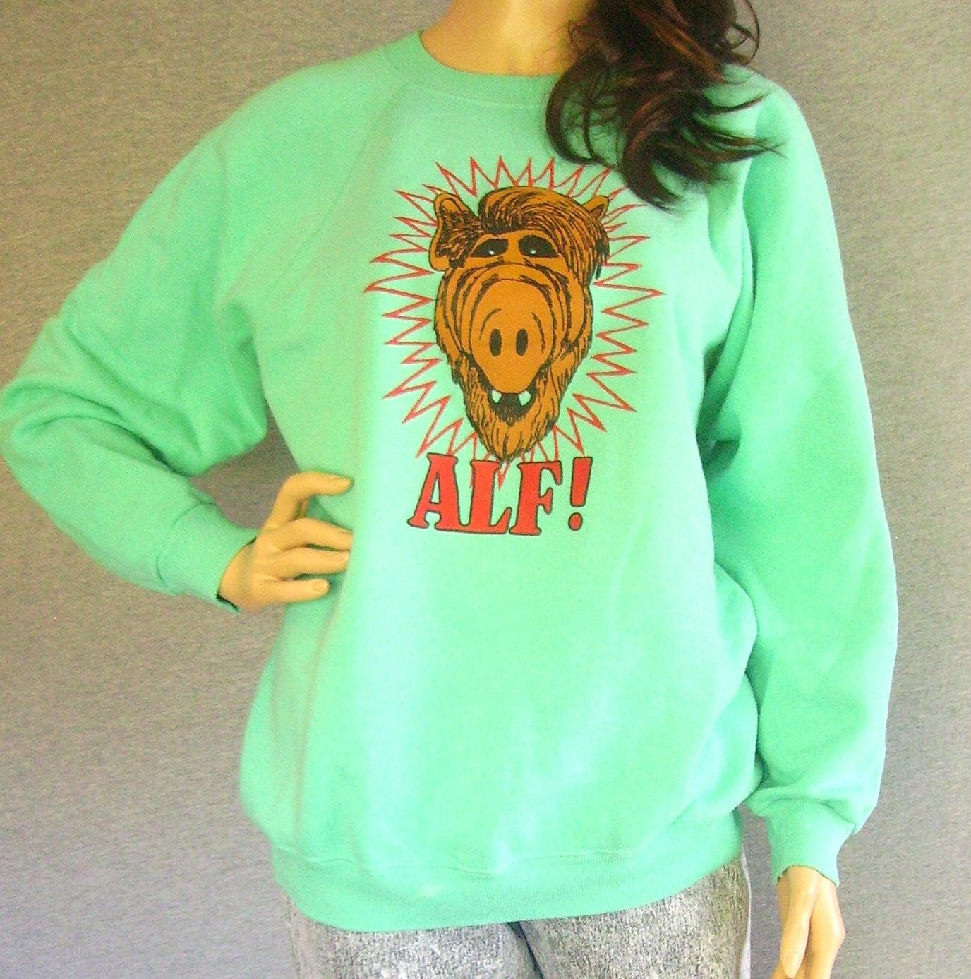 80s ALF Shirt / Pastel Shirt / Vintage 80s Alf Sweatshirt