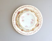 Instant Collection of 5 Vintage Plates in Pinks-Floral